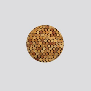 Wine Corks 6 Mini Button