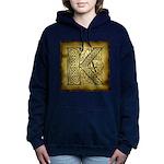 Celtic Letter K Hooded Sweatshirt