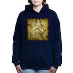 Celtic Letter R Hooded Sweatshirt