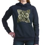 Celtic Dark Sigil Women's Hooded Sweatshirt