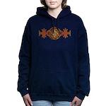 Celtic Knotwork Enamel Women's Hooded Sweatshirt