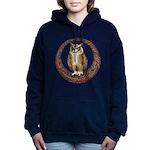 Celtic Owl Hooded Sweatshirt
