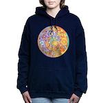Celtic Crescents Rainbow Hooded Sweatshirt