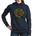 Celtic Stained Glass Spiral Hooded Sweatshirt