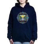 Celtic Sun-Moon Hourglass Hooded Sweatshirt