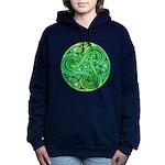 Celtic Triskele Hooded Sweatshirt