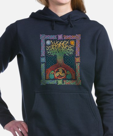 Celtic Tree of Life Hooded Sweatshirt