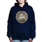 Bejeweled Celtic Shield Hooded Sweatshirt
