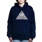Celtic Pyramid Hooded Sweatshirt