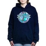 Cool Celtic Dragonfly Hooded Sweatshirt