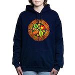 Celtic Autumn Leaves Hooded Sweatshirt