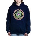 Celtic Springtime Mandala black shirt  Hooded