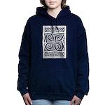 Celtic Knotwork Cloverleaf Hooded Sweatshirt