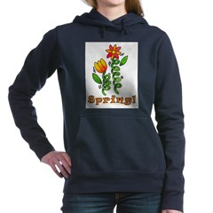 Spring Flowers Hooded Sweatshirt