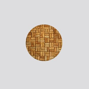 Wine Corks 3 Mini Button