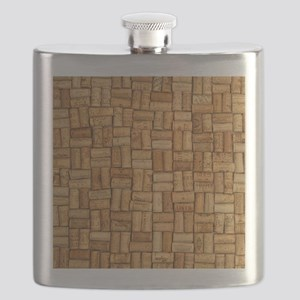Wine Corks 3 Flask