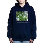 Heaven in Raindrops Quote Hooded Sweatshirt