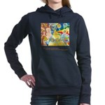 Magical in Mundane Quote Hooded Sweatshirt