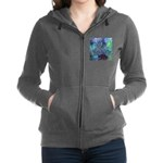 Dimensional Chill Abstract Zip Hoodie