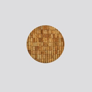 Wine Corks 2 Mini Button