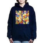 Carnival Balloons Abstract Hooded Sweatshirt