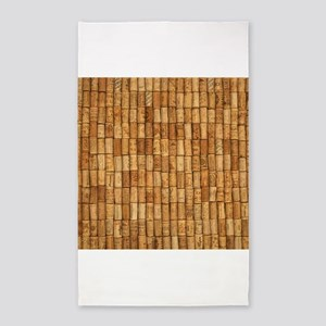 Wine Corks 2 3'x5' Area Rug