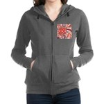 Poinsettia Power Zip Hoodie