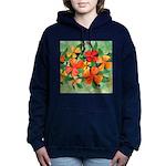 Tropical Flowers Splash Hooded Sweatshirt