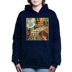 Celtic Harvest Moon Watercolor Hooded Sweatshirt