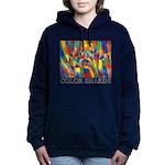 Color Shards Watercolor Hooded Sweatshirt