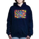 Cosmic Ribbons Hooded Sweatshirt
