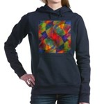 Worlds Within Worlds Abstract Hooded Sweatshirt