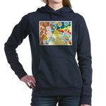 Creation Myth Watercolor Hooded Sweatshirt