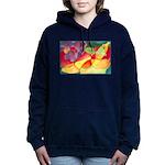 Fruit Montage Watercolor Hooded Sweatshirt