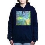 Undersea Luminescence Watercolor Hooded Sweatshirt