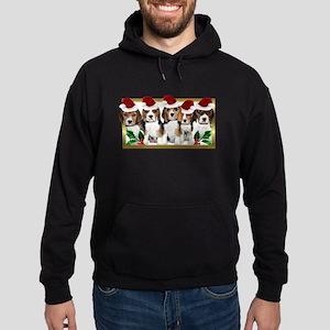 Christmas Beagles Hoodie