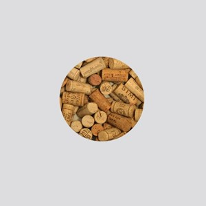 Wine Corks 1 Mini Button