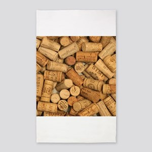 Wine Corks 1 3'x5' Area Rug