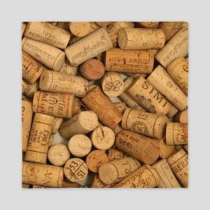 Wine Corks 1 Queen Duvet