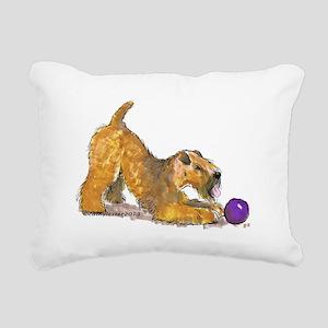 Soft Coated Wheaten Terrier with Ball Rectangular