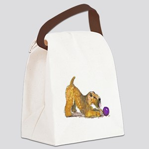 Soft Coated Wheaten Terrier with Ball Canvas Lunch