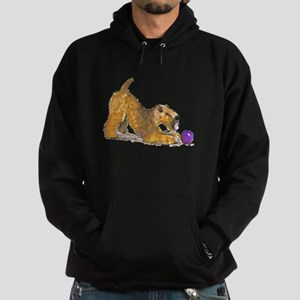 Soft Coated Wheaten Terrier with Ball Hoodie