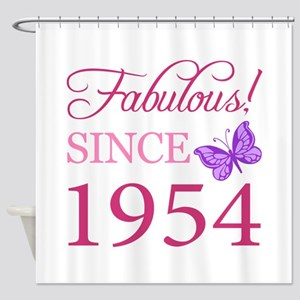 Fabulous Since 1954 Shower Curtain