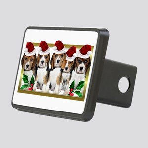 Christmas Beagles Hitch Cover
