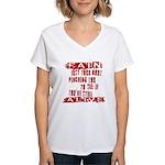 Pain Is Women's V-Neck T-Shirt