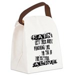 Pain Is Canvas Lunch Bag