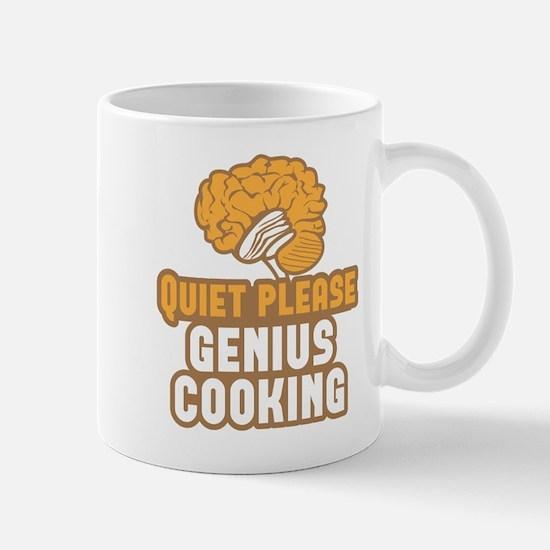 Quiet please! Genius COOKING! Mugs