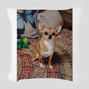 Chihuahua Woven Throw Pillow