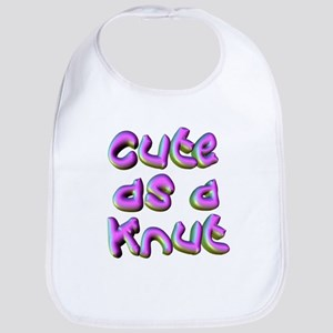 Cute as a Knut Bib