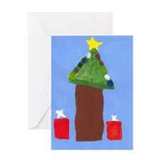Gifts Under the Tree Greeting Card
